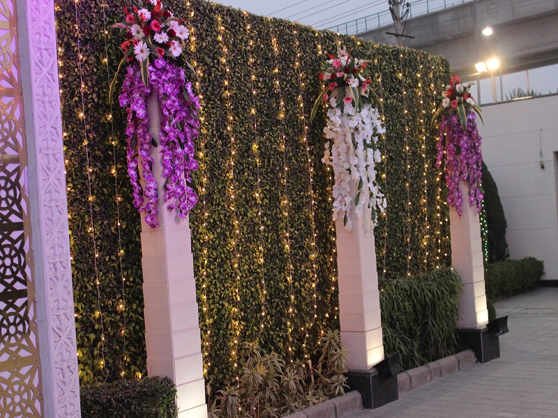 Orchid Greens Decoration